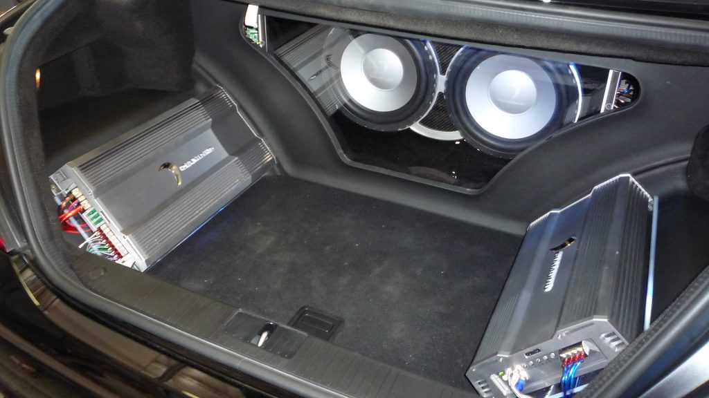 Car audio installed in Lynnwood
