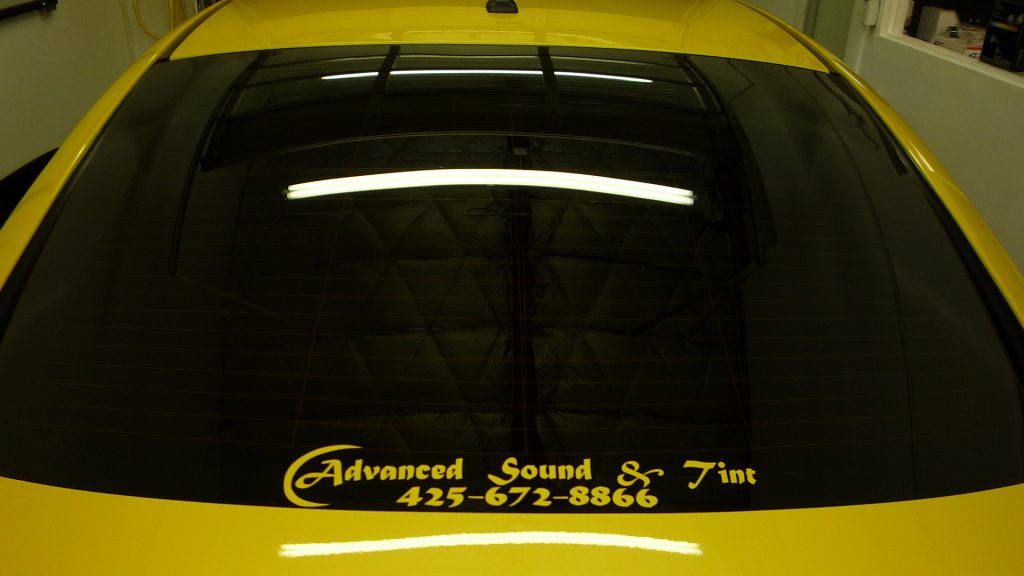 Auto window tinting in lynnwood