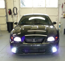 HIDs, LEDs car lights