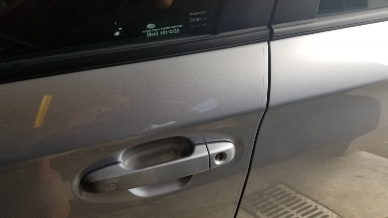 Finished 2019 Subaru Impreza Paint Protection film
