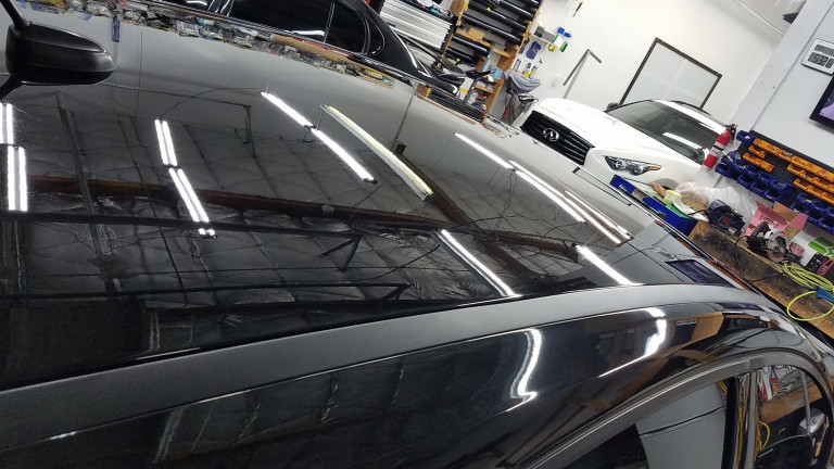 Advanced Sound and Tint did an unbelieveable job with their Auto Detailing.